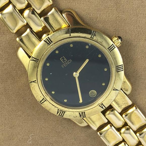 Fendi Other - Vintage Fendi Stainless Steel Watch Roman Numerals